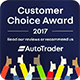 Customer Choice Award from Autotrader